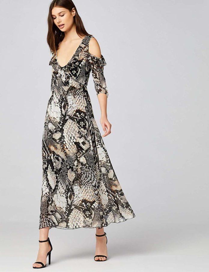 ClioMakeUp-vestiti-lunghi-estivi-15-cold-shoulder-vestito-amazon