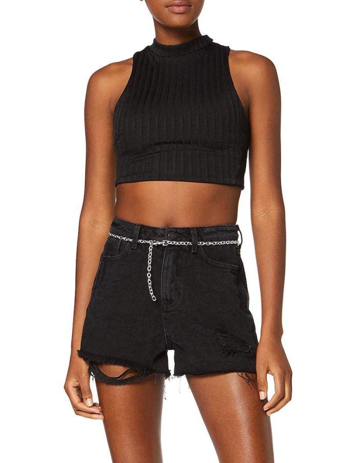 ClioMakeup-pantaloncini-corti-forme-coscia-7-new-lokk-chain-mom-shorts-amazon.jpg
