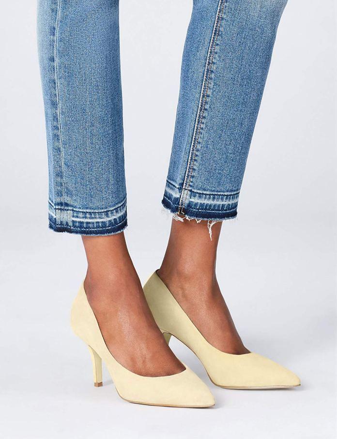 ClioMakeUp-look-scarpe-tacco-comodo-17-tacco-basso-scarpe-gialle