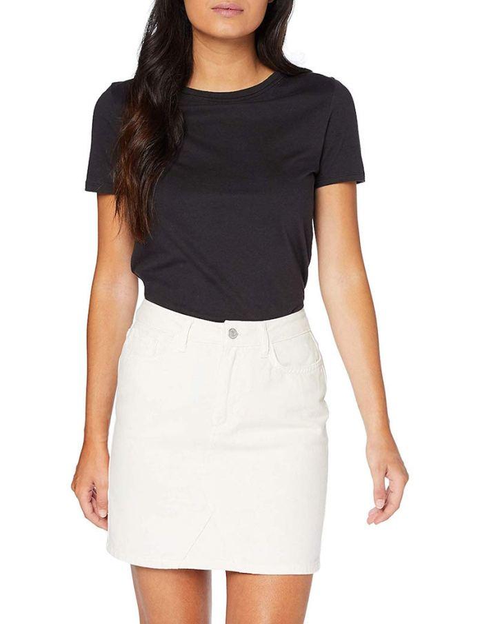 ClioMakeUp-copiare-look-ariana-grande-8-gonna-jeans-new-look-amazon.jpg