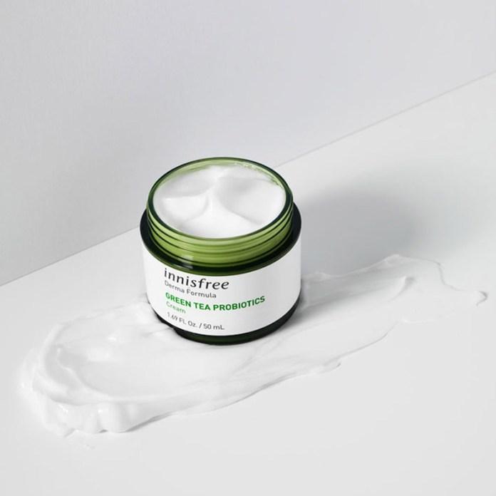 cliomakeup-novità-skincare-low-cost-15-innisfree-green-tea-probiotics-cream