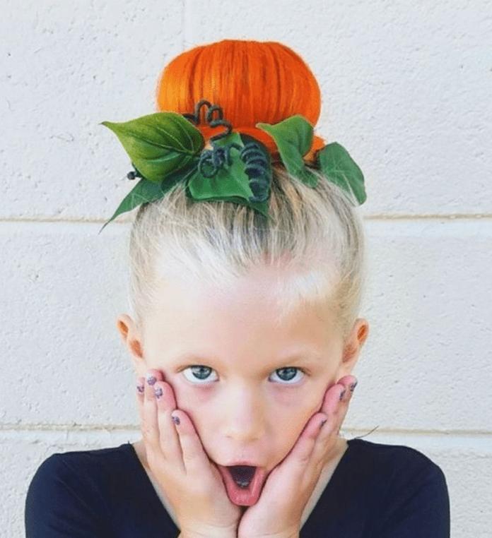 cliomakeup-acconciature-facili-halloween-bambini-6-chignon-zucca