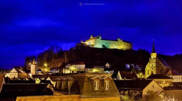 birrifici germania: Fortezza Plassenburg a Kulmbach sulla strada della birra