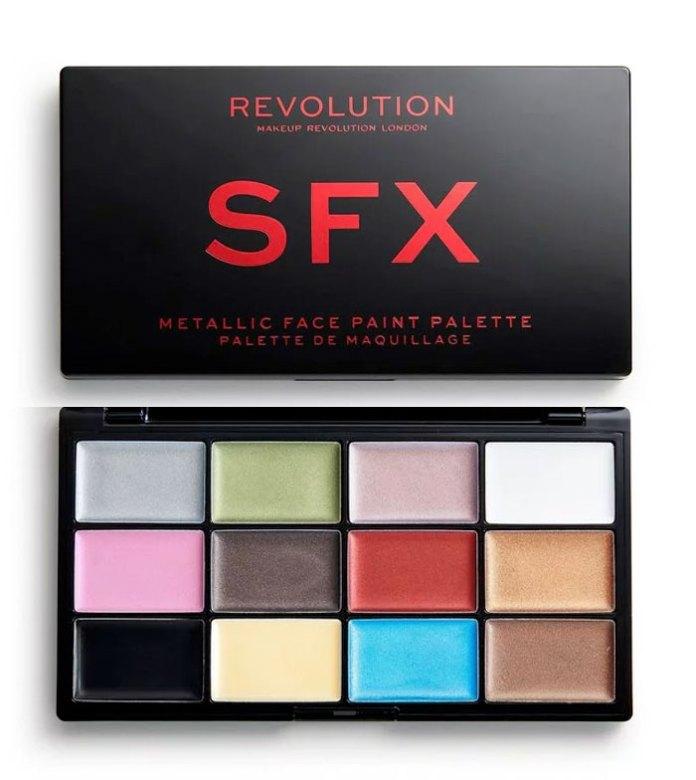 Halloween collezioni trucco: palette in crema SFX di Makeup Revolution