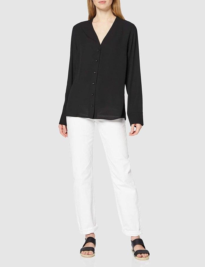 Cliomakeup-look-con-camicia-20-find-blusa-nera