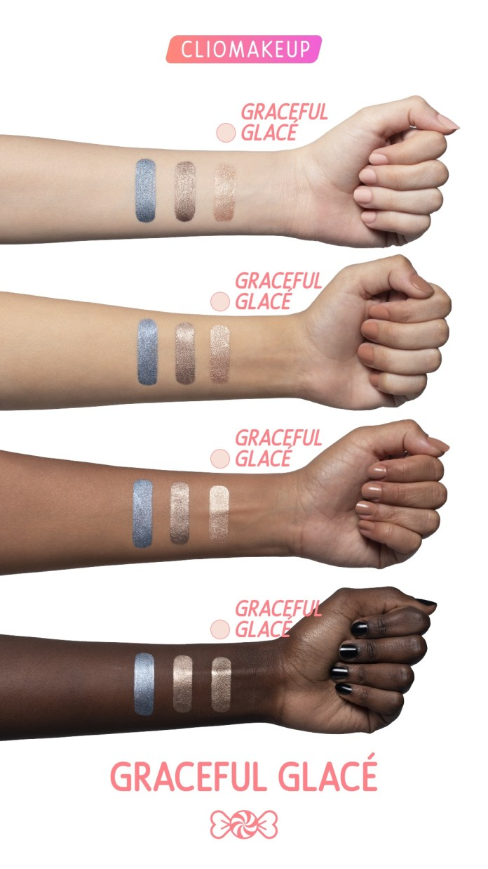 Cliomakeup-ombretto-cremoso-graceful-glace-sweetielove-11-swatches