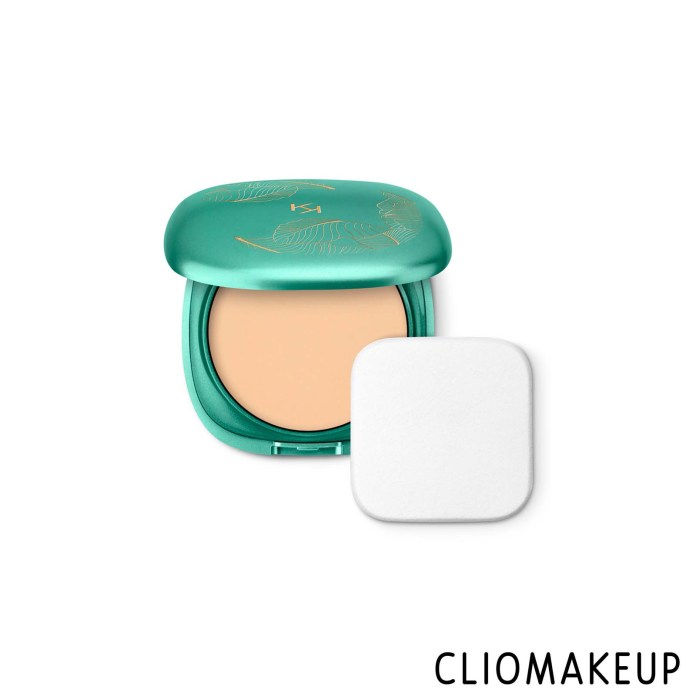 cliomakeup-recensione-fondotinta-kiko-unexpected-paradise-powder-foundation-spf50-1