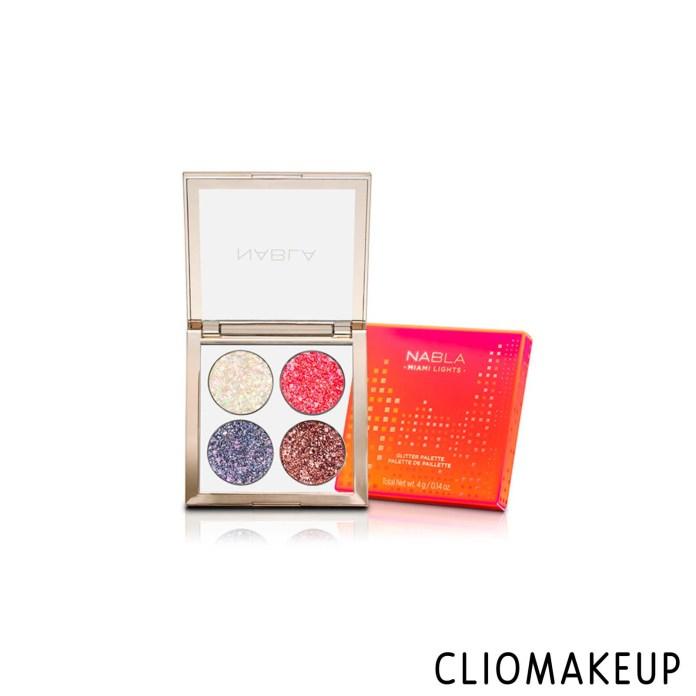 cliomakeup-recensione-palette-nabla-miami-lights-pressed-glitter-palette-1