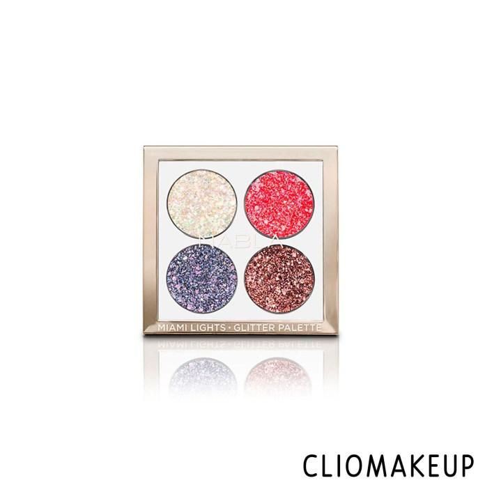 cliomakeup-recensione-palette-nabla-miami-lights-pressed-glitter-palette-3