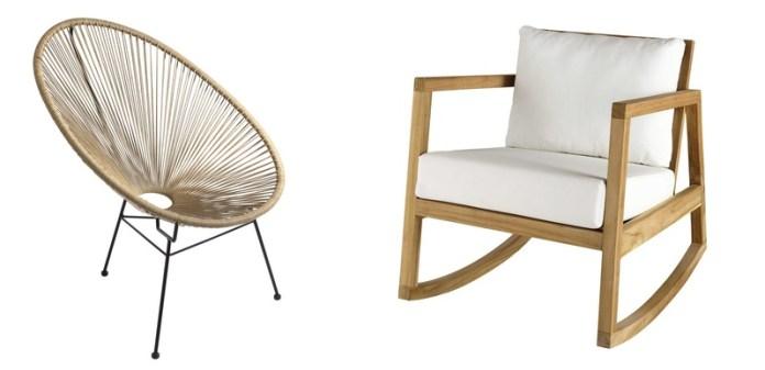 Chaise de jardin en métal orange batignolles 50.00 (avec. Maison Du Monde Primavera 2021 Le Novita Della Collezione