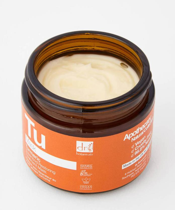 cliomakeup-prodotti-beauty-alla-curcuma-drbotanicals-superfood-maschera-ristrutturante