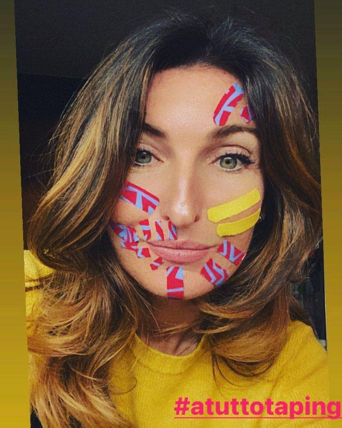 Cliomakeup-face-taping-team-clio-marialuisa-tape-colorati