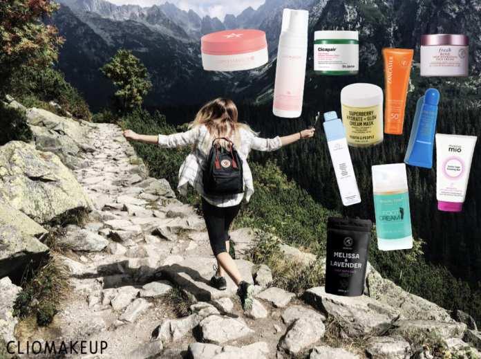 cliomakeup-beauty-routine-estate-montagna-prodotti