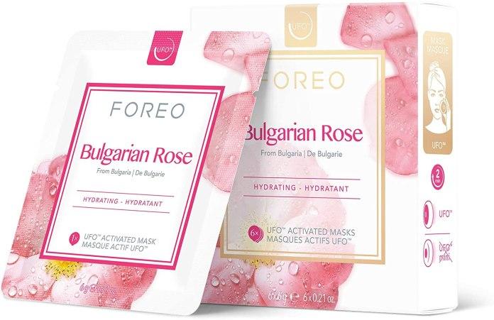 Cliomakeup-prodotti-beauty-agosto-2021-FOREO-Bulgarian-Rose-Maschera-In-Tessuto