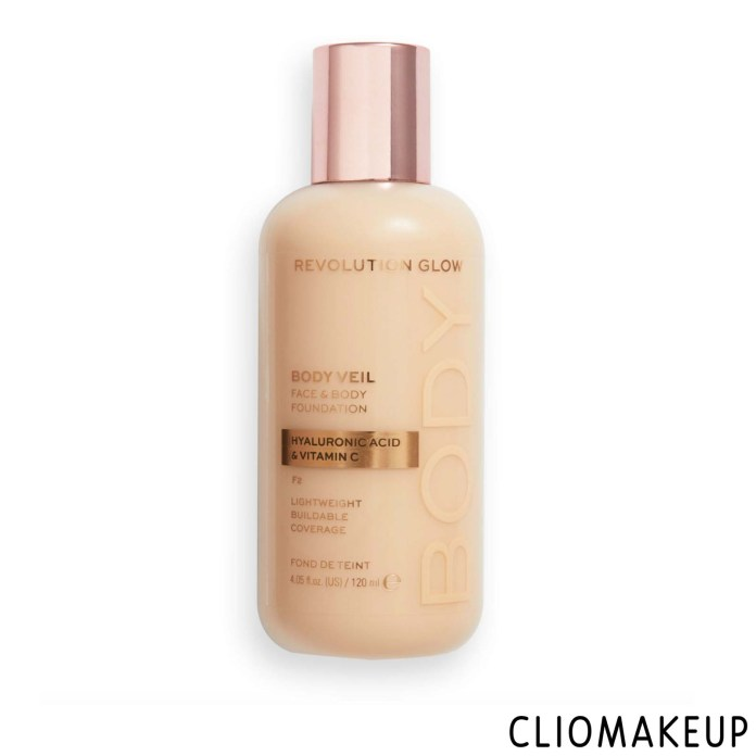 cliomakeup-recensione-fondotinta-revolution-glow-body-veil-face-e-body-foundation-1