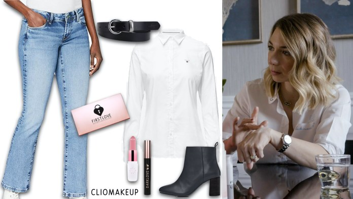 Clio-back-home-look-puntate-3-4-Look-Elena-camicia-jeans