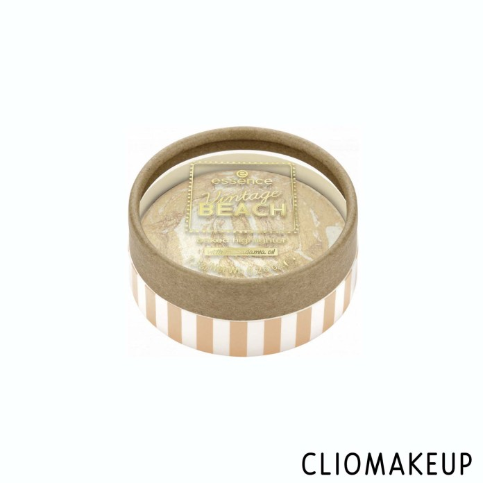 Cliomakeup-Recensione-Illuminante-Essence-Vintage-Beach-Baked-Highlighter-1