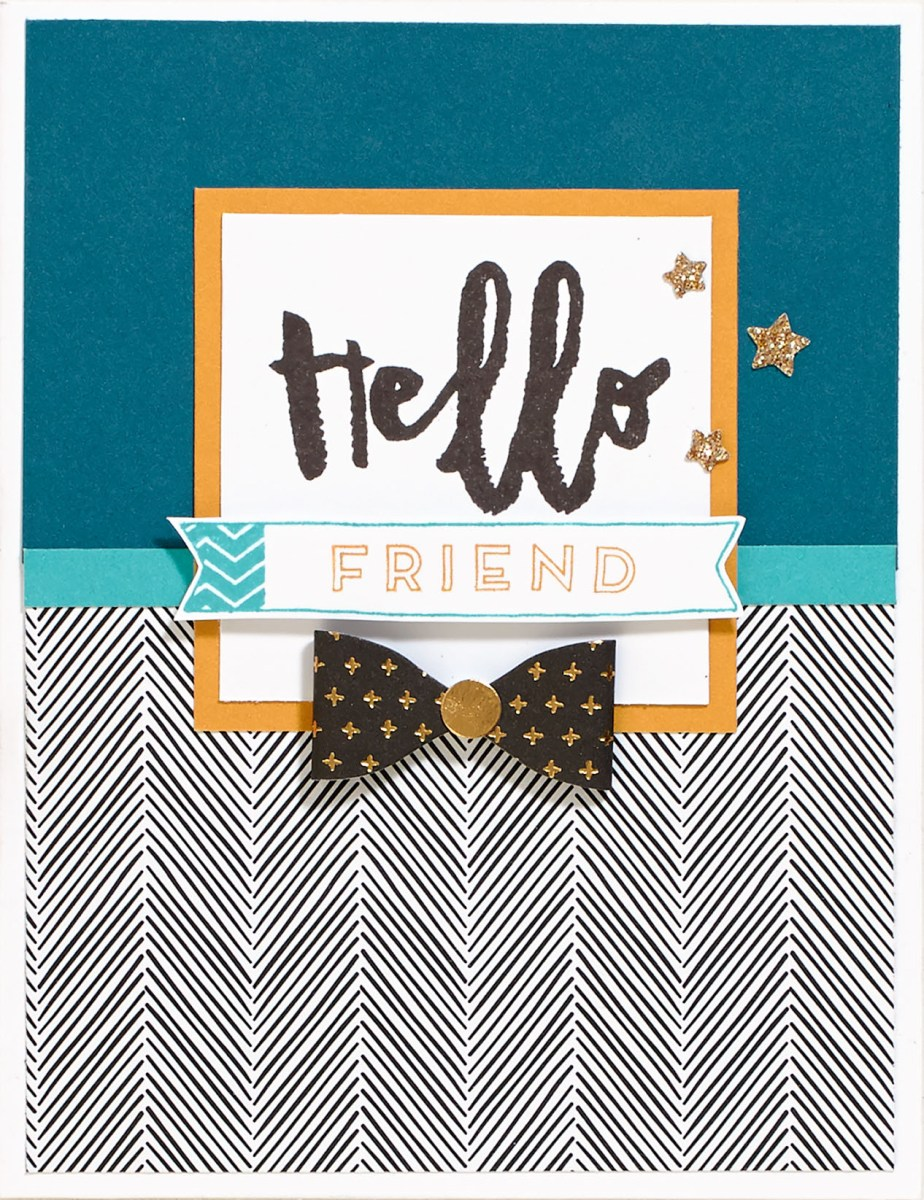 Hello, Life! Friend Card
