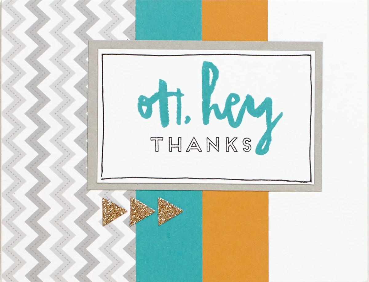 Hello, Life! Thanks Card