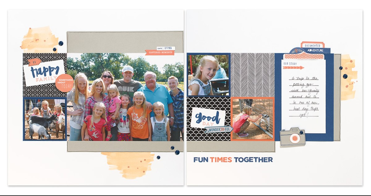 Hello, Life! Scrapbooking Layout