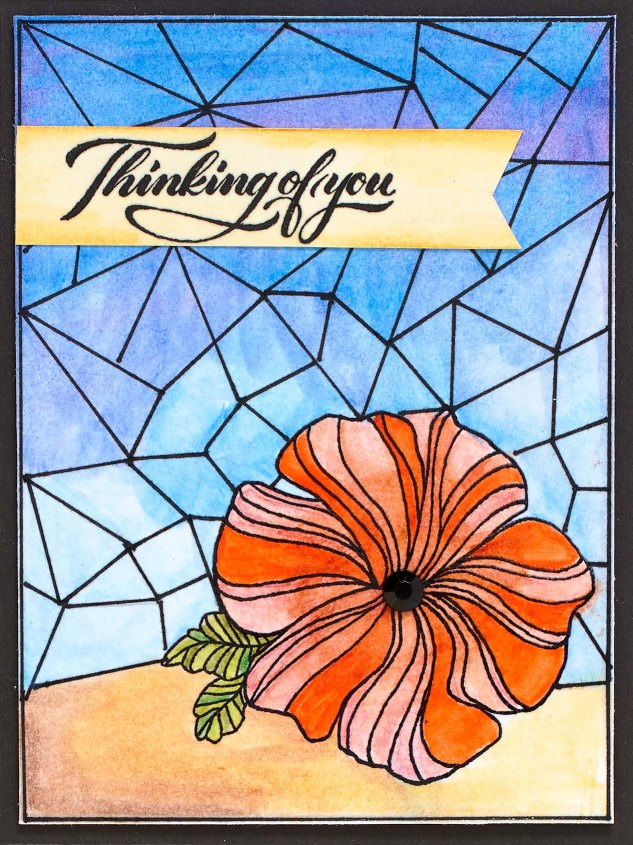 Stained Glass card