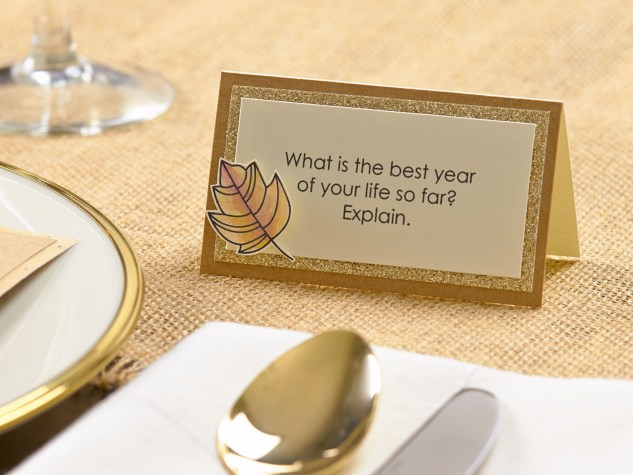 Create beautiful Thanksgiving place settings! #closetomyheart #ctmh #thanksgiving #dinner #autumn #fall #gratitude