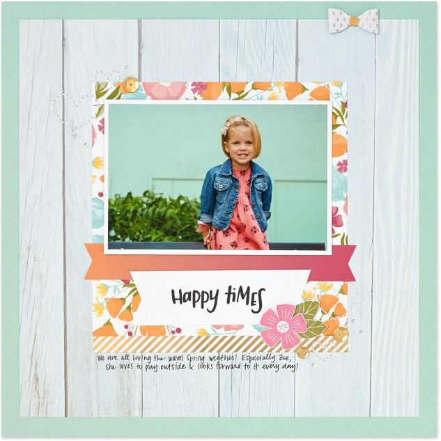 Learn how to mix patterned scrapbook papers like the experts! #ctmh #closetomyheart #scrapbooking #nsm #scrapbookingtips