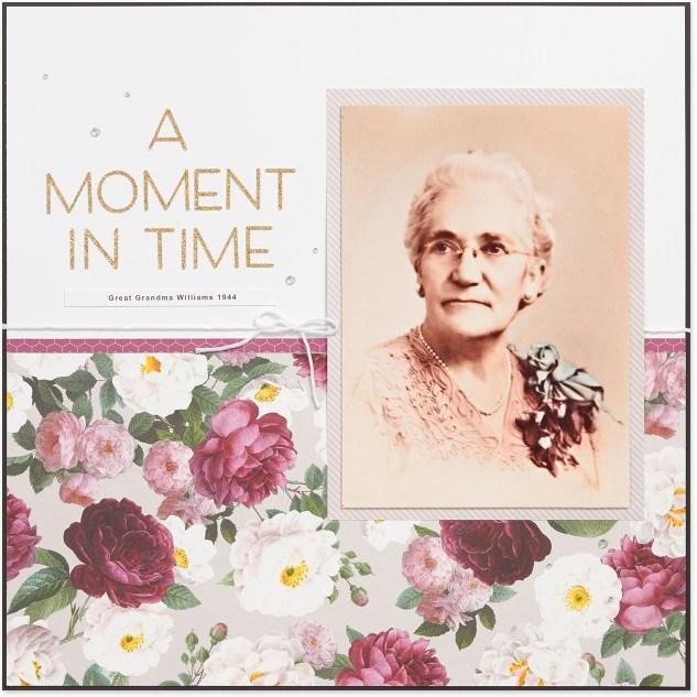 Heritage scrapbooking inspiration #ctmh #closetomyheart #livebeautifully #heritagescrapbooking #genealogy #familyhistory #scrapbooking