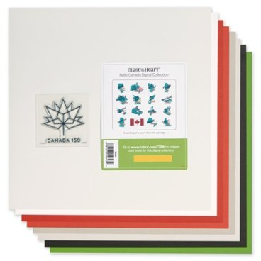 All Things Canadian #CTHM #Closetomyheart #canada150 #canadian #canada #mapleleaf #icehockey #pondhockey #cricut #scrapbooking #scrapping #scrapbook