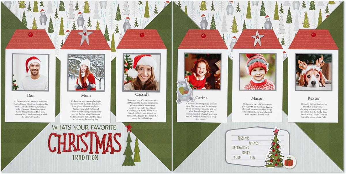 Scrapbooking Traditions #ctmh #closetomyheart #family #holiday #tradition #Christmas #favorite