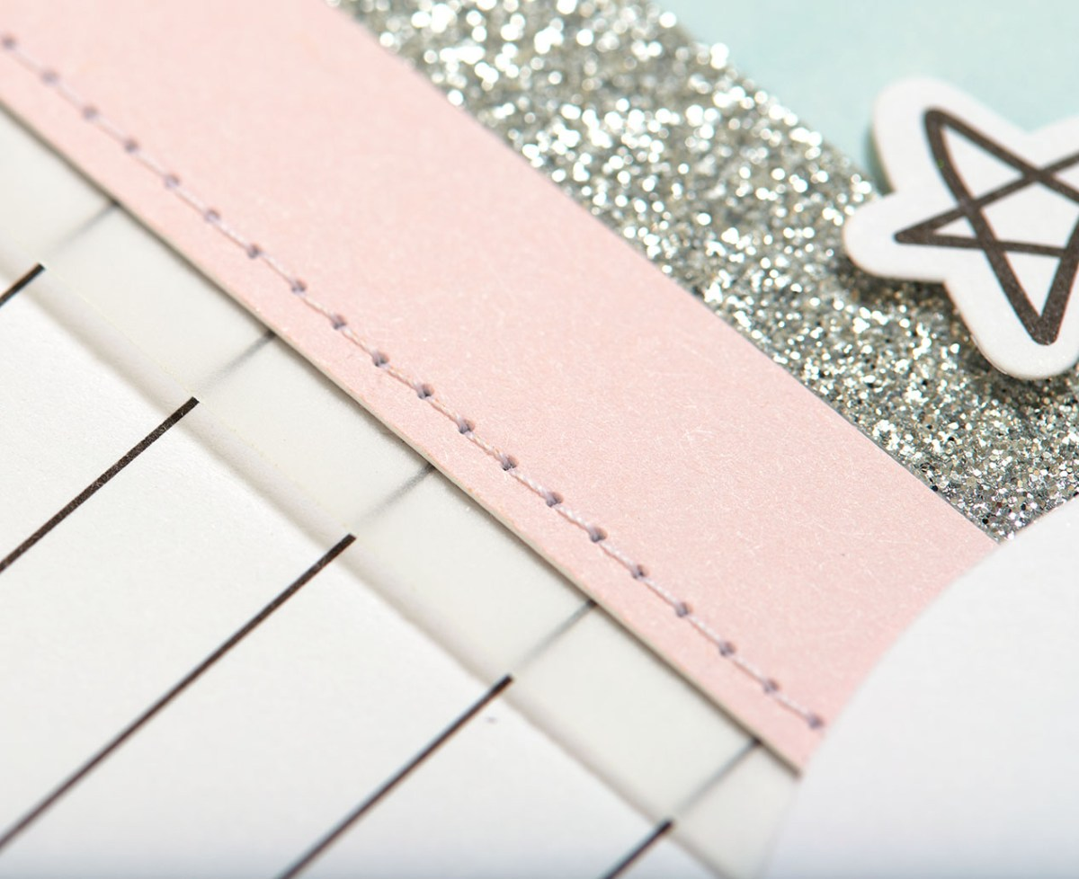 Pastel Christmas Trend #ctmh #closetomyheart #pastel #Christmas #trend #bashful #silver #glitter #pink #lightblue #juniper #December #cardmaking #season