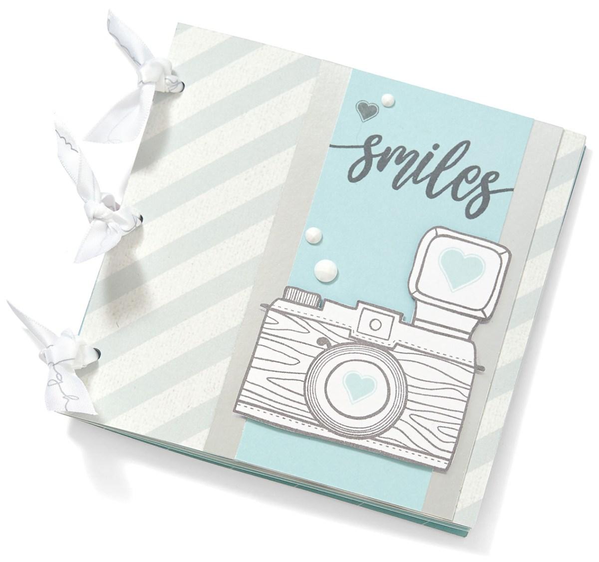 holiday favorites #ctmh #closetomyheart #holiday #ideabook #catalog #catalogue #ohsnap #myacrylix #stamp #camera #smiles #mini #album #blue