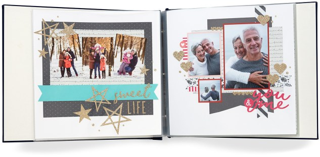 Through the Year Calendar Kit #ctmh #closetomyheart #diy #photocalendar #calendar #kit #throughtheyear #scrapbook #scrapbooking #memorykeeping #memory #keeping #keepsake #gift #present #Christmas #holiday #sweet #life #you #me #gold #glitter #die-cut #diecut