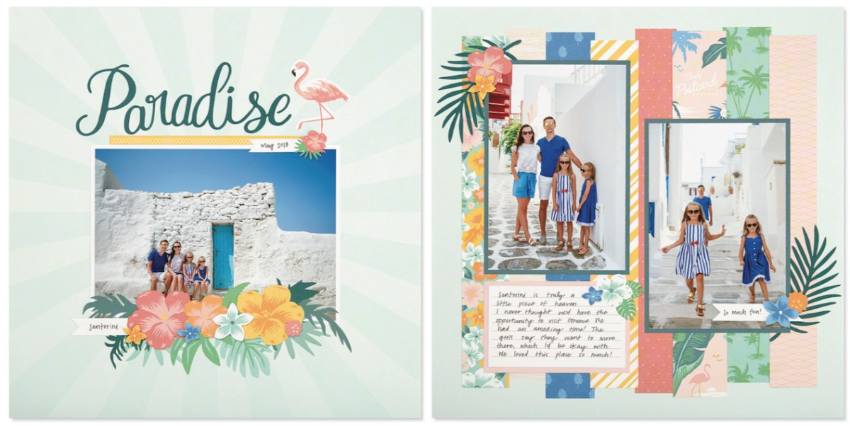 May Is Postcard Perfect #ctmh #closetomyheart #ctmhpostcardperfect #postcardperfect #postcard #perfect #nsm #nationalscrapbookingmonth #national #scrapbooking #month #scrapping #scrapper #cutabove #CutAbove #layout #kit #free #consultant #host #paradise #chill #summer #vacation #sunny #beach #getaway #holiday #goodtimes