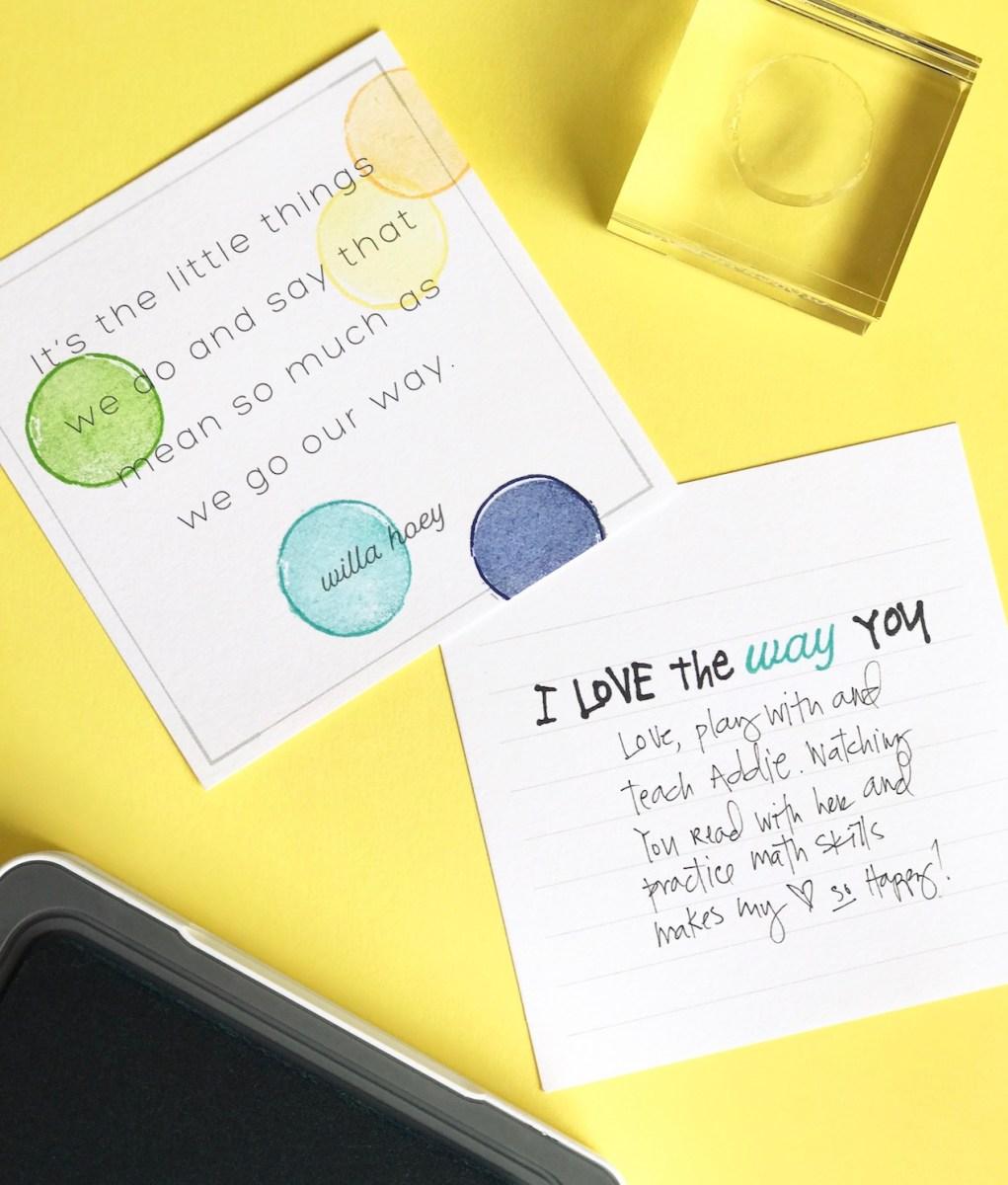 Stamping Story Starter #ctmh #closetomyheart #ctmhstacyjulian #ctmhxstacyjulian #ctmhstorystarter #stamping #quoteablewords #ctmhquoteablewords #colorfultextures #ctmhcolorfultextures #MyAcrylix #stamping #stampset #journaling #journalling #stacyjulian #minialbum #album #stories #Ilovethewayyou