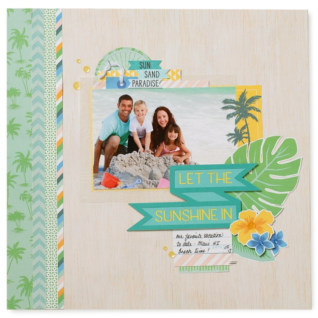 Custom Banners in Cricut Design Space™ #ctmh #closetomyheart #ctmhpostcardperfect #postcardperfect #nationalscrapbookingmonth #nsm #ctmhnsm #scrapbooking #scrapbook #cricut #cricutdesignspace #designspace #ctmhdesignspace #ctmhcricut #slicetool #slice #banners #banner #sunshine #summer #vacation #youarehere #ctmhyouarehere #artistry #ctmhartistry