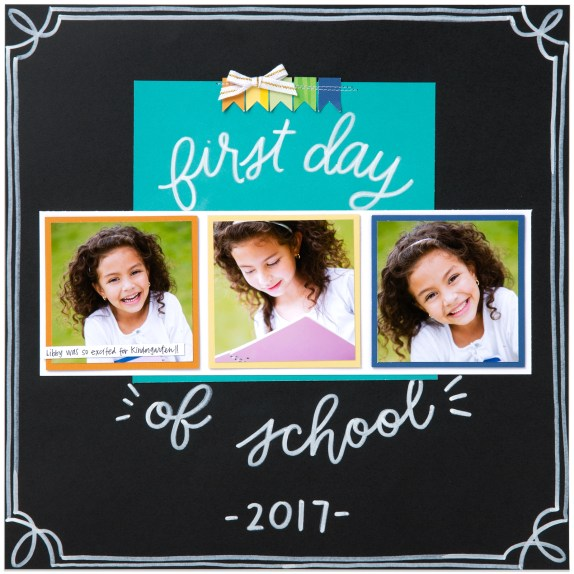 Chalk Marker #ctmh #closetomyheart #ChalkMarker #chalk #marker #scrapbooking #scrapbook #papercrafting #cardmaking #firstdayofschool