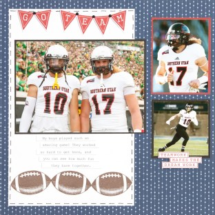 Seasonal Expressions 1 #ctmh #closetomyheart #SE1 #SeasonalExpressions #ideabook #catalog #scrapbooking #cardmaking #papercrafting #scrapbook #diycards #papercraft #stamping #football #gameday #goteampage #teamwork