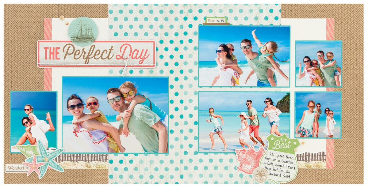 Making Memories by the Seaside #ctmh #closetomyheart #ctmhseaside #bringbackmypack #scrapbooking #cardmaking #patterns #workshopguide #theperfectday #beach #vacation #holiday #summer