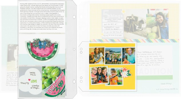 Making an Extended Story #ctmh #closetomyheart #storybystacyxctmh #storyteller #storytelling #scrapbooking #extendedstory #connectedstory #watermelon #stacyjulian