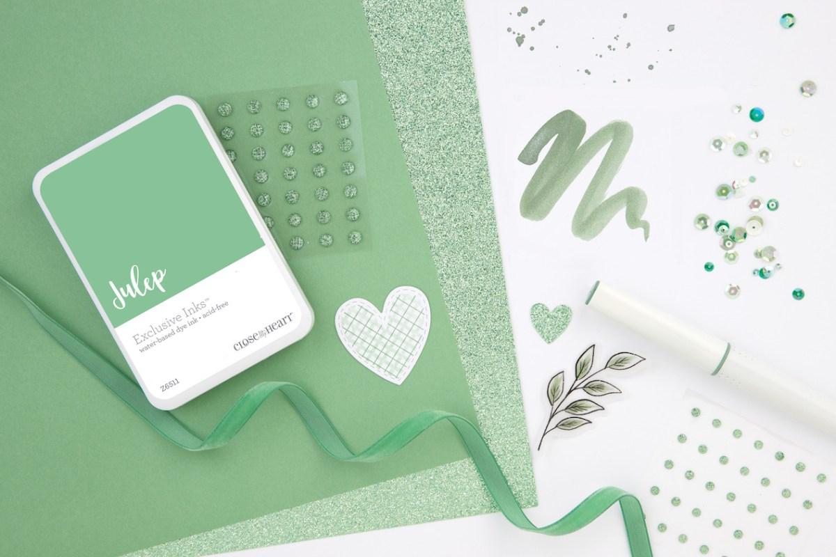 New CTMH Products #closetomyheart #ctmh #scrapbooking #cardmaking #papercrafting #julep #coloroftheyear #colouroftheyear