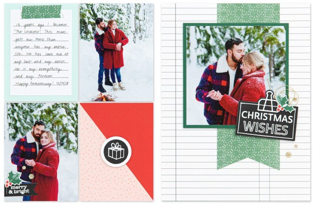 Stamping-techniques-Christmas-wishes-layout