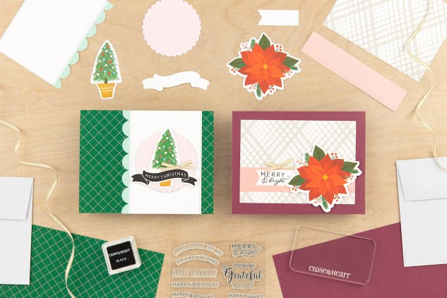 Scrapbooking and Cardmaking Made Easy #ctmh #closetomyheart #craftwithheart #scrapbooking #cardmaking #subscription #diy #easyscrapbooking #fastscrapbooking #easycardmaking #fastcardmaking #merryChristmas #merryandbright