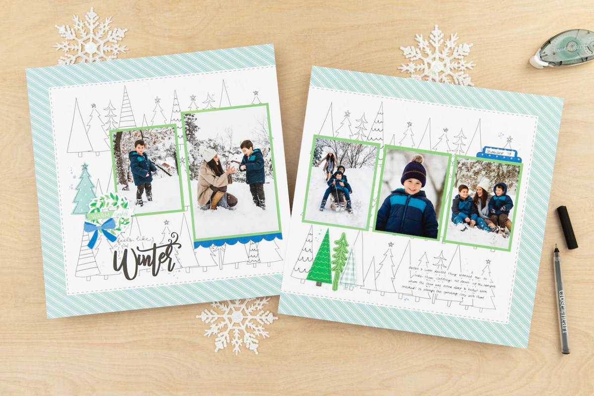 Scrapbooking and Cardmaking Made Easy #ctmh #closetomyheart #craftwithheart #scrapbooking #cardmaking #subscription #diy #easyscrapbooking #fastscrapbooking #easycardmaking #fastcardmaking #November #winter