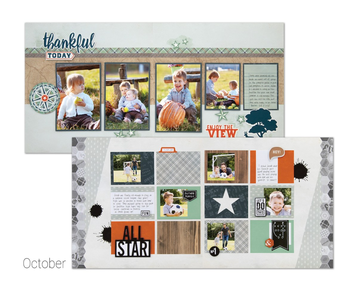 Scrapbooking and Cardmaking Made Easy #ctmh #closetomyheart #craftwithheart #scrapbooking #cardmaking #subscription #diy #easyscrapbooking #fastscrapbooking #easycardmaking #fastcardmaking #thankful #allstar