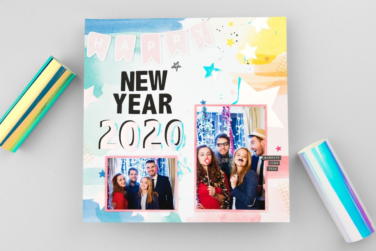 New Year Catalog #ctmh #closetomyheart #scrapbooking #cardmaking #papercrafting #ctmhohmyheart #ctmhallaroundcreativity #nsm #nationalscrapbookingmonth #holographicpaper