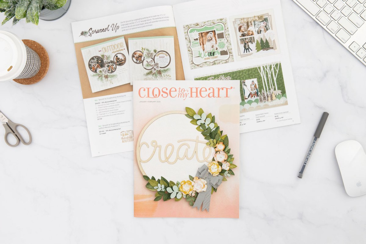 New Year Catalog #ctmh #closetomyheart #scrapbooking #cardmaking #papercrafting #ctmhohmyheart #ctmhallaroundcreativity #nsm #nationalscrapbookingmonth