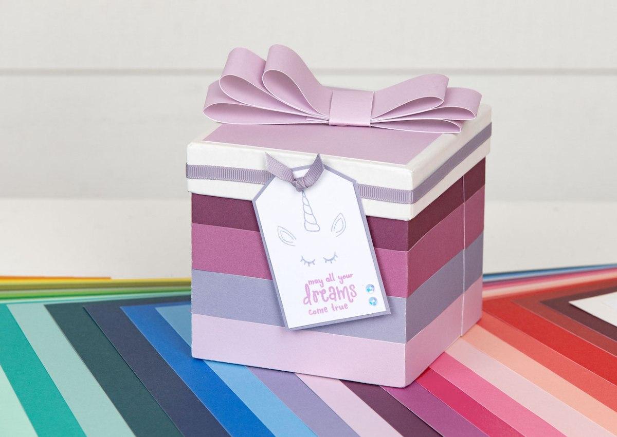 Cardstock Carnival #ctmh #closetomyheart #cardstock #exclusivecolorpalette #exclusivecolourpalatte #ctmhcolors #cmthcolours #giftbox