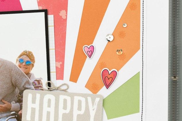 Unique Scrapbook Pages #ctmh #closetomyheart #scrapbooking #memorykeeping #storytelling #happydays #letthegoodtimesroll #pocketscrapbooking #pml #pocketcards #picturemylife #photoalbum #cricut #artbooking