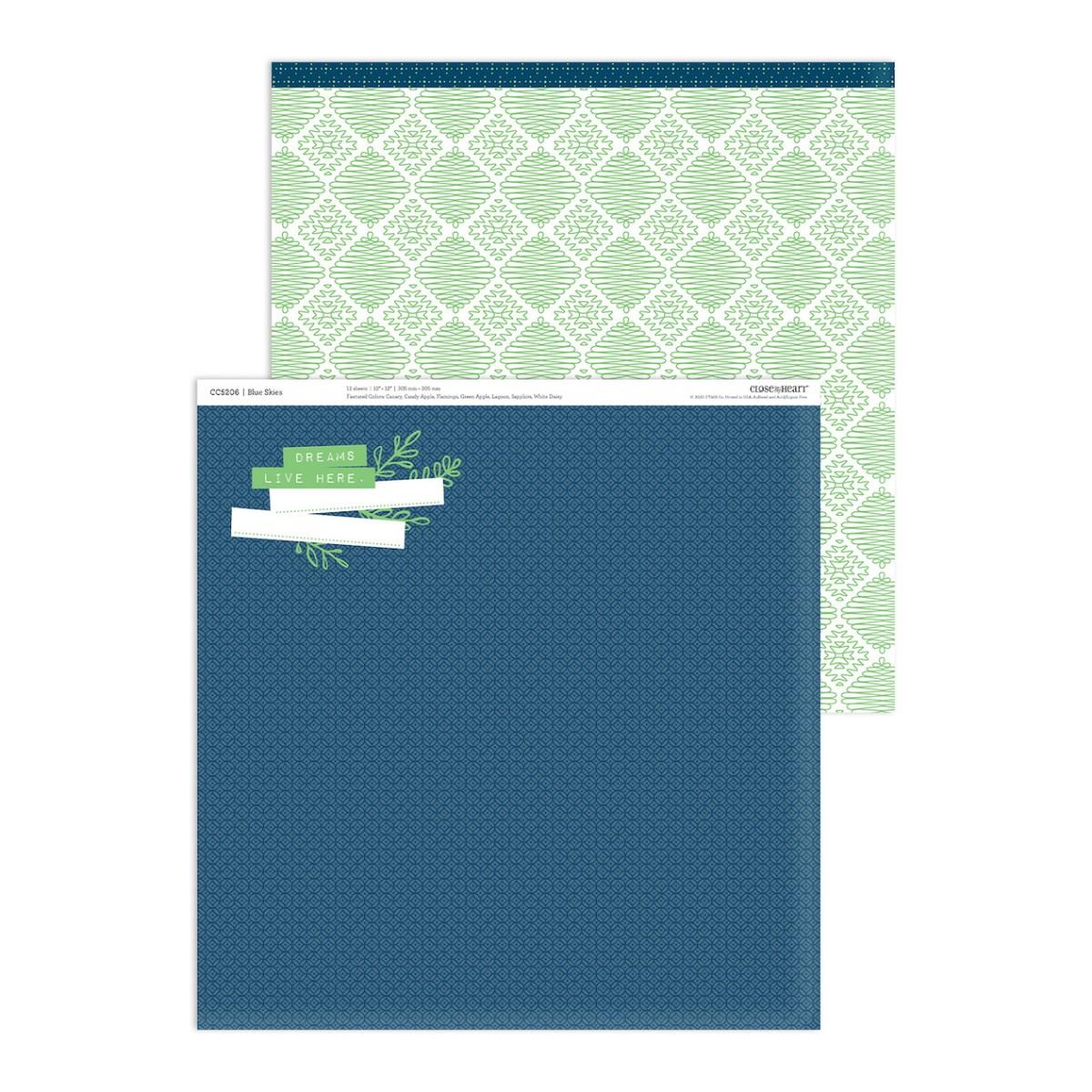 Blue Skies Collection #ctmh #closetomyheart #ctmhblueskies #nationalscrapbookingmonth #nationalscrapbookingday #ctmhnsd #ctmhnsm #scrapbooking #cardmaking #papercrafting #everydaylife #minialbum #cutabove #pinwheel #thincuts #blueskies #beautifulday #giveaway